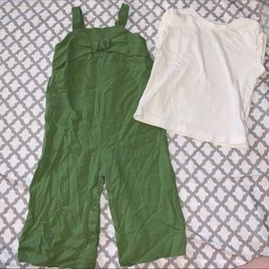 ❤️OshKosh Girls Jumpsuit with Shirt